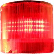 Springer Controls / Texelco LA-22-4B 70mm Stack Light, Flashing, 24V AC/DC LED - Red