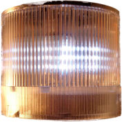 Springer Controls / Texelco LA-29-15 70mm Stack Light, Flashing, 120V AC/DC BULB - Clear