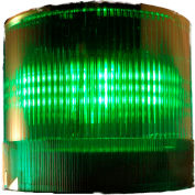 Springer Controls / Texelco LA-45-24 70mm Stack Light, TriFunction (S,F,R), 24V AC/DC LED - Green