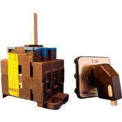 Springer Controls/MERZ ML1-025-SB2, 25A, 3-Pole, Disconnect Switch, Black/Grey, Din-Mount, Lockout
