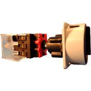 Springer Controls/MERZ ML3-125-DB3,125A,3Pole,Disconnect Switch,Blk/Grey,Din-Mount,Coupling,Lockable