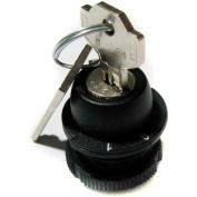 T.E.R., PRSL1867PI 0/1 Spring Return Pull Out Keyed Selector Switch, Use w/ MIKE & VICTOR Pendants