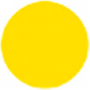 T.E.R., PRTA097MPIT Yellow Transparent Button Insert, Use w/ MIKE & VICTOR Pendants