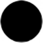 T.E.R., PRTA099MPI Black Button Insert, Use w/ MIKE & VICTOR Pendants