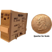 RelayGo RS1814, Solid State Relay, 3A Switch, 24-250 V AC, Normally Open, Inductive Load, 5-Blade