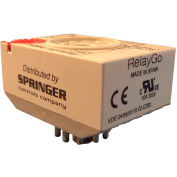RelayGo TMB2H, Industrial Timer Relay, Interval in Off Impulse, 61-265 V AC, 8-Pin