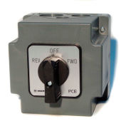 Springer Controls/MERZ W151/7-I2-CA,20A,3-POLE,Encl. Reversing Switch,Spring-Return Lever Handle
