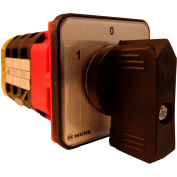 Springer Controls / MERZ W151/3-AA, Reversing Switch, Maintained, 3-Pole, 20A, 4-hole front-mount
