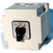 Springer Controls/MERZ W451/7-I3-CA,40A,3-POLE,Encl. Reversing Switch,Spring-Return Lever Handle