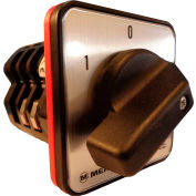 Springer Controls / MERZ W656/7-AC, Reversing Switch, Spring Returned, 3-Pole,80A,4-hole front-mount