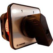 Springer Controls / MERZ Z451/4-AB, Change-Over Switch No Zero Pos., 1-Pole, 40A, 4-hole front-mount