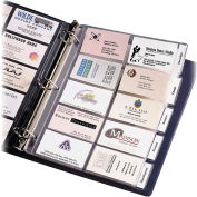 Avery® Tabbed Business Card Page, Clear - Pkg Qty 5