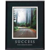 "Advantus® Success Poster, 78004, 24""W X 30""H, Black Frame"
