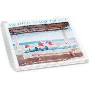 Baumgartens® 3 Ring Magazine/Catalog Organizer Strips, Clear, 12/Pk