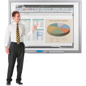"Balt® Interactive Whiteboard, 2""x3""x1"", Black"