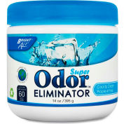 Bright Air Super Odor Eliminator, Cool & Clear 14 oz. Container BRI900090EA