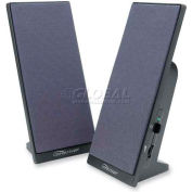 Compucessory Speaker System, 30251, 3 Watts RMS, Black