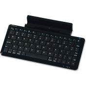 "Compucessory iPad Wireless Keyboard/Stand, 2-in-1, 3-7/10""x8-1/2""x9/10"", Black"