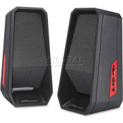 Compucessory Speaker System, 51545, 4 Watts RMS, Black