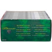 Compucessory Thin CD/DVD Jewel Case, 55401, W/Literature, 100/Pk, Black