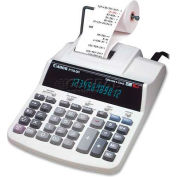 "Canon® 12-Digit Calculator, P170DH, 2 Color Printing, W/Time, 7-4/5"" X 10-4/5"" X 2-1/2"", Grey"