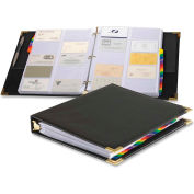 Cardinal® Sewn Vinyl Business Card File Binder