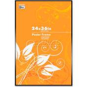 "DAX Metal Poster Frames, DAXN1894U1T, 36"" x 24"", Black Frame, 1 Each"