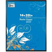 "DAX Metal Poster Frames, DAXN1894V1T, 20"" x 16"", Black Frame, 1 Each"