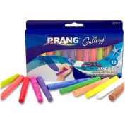 Dixon Prang Ambrite Paper Chalk - Assorted, 12/Box