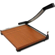 "X-ACTO® Commercial Grade Square Guillotine Paper Trimmer, 12"" Cutting Length, Brown"