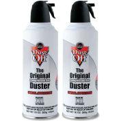 Falcon® Dust Off Premium Air Dusters, DPNXL2, 10 Oz., 2/Pk