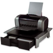 Fellowes® Office Suites™ Printer Stand, Black/Silver