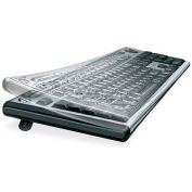 Fellowes® 99680 Antimicrobial Custom Keyguard Cover Kit, Clear