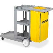 Genuine Joe Workhorse Janitor's Cart - GJO02342