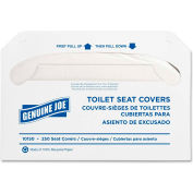 Genuine Joe Toilet Seat Covers White, 250/Pk, GJO10150