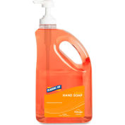 Genuine Joe Antibacterial Liquid Moisturizing Soap, Refill Bottle, 1893 ml. - GJO10458
