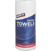"Genuine Joe 2 ply, Household Paper Towel, 9"" X 11"", 80 Sheets/Roll, 30/PK, White - GJO24080"