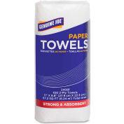 """Genuine Joe Household Roll Paper Towels 2 Ply 9"""" x 11"""", 100 Sheets/Roll 24 Rolls/Case - GJO24081"""
