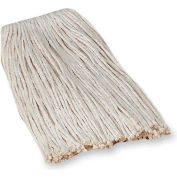 Genuine Joe Mop Refill, No 16 Cotton, 4-Ply, White, GJO48253