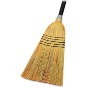 "Genuine Joe Lobby Blend Broom, 11"" W, 56"" Handle, Natural, GJO58563"