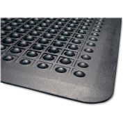 "Genuine Joe Flex Step Anti-Fatigue Mat 60""L X 36""W Black - GJO70373"