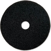 "Genuine Joe® 14"" Stripping Pad, Black, 5 Per Case"