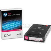 HP RDX Cartridge Hard Drive, HEWQ2041A, 320 GB Capacity, Black