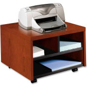 "HON® Printer/Fax Stand, Mobile, 20""x19-7/8""x14-1/8"", Henna Cherry"