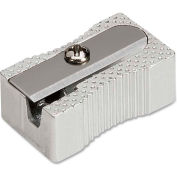 Integra™ Aluminum Pocket Sharpener, Steel, Silver