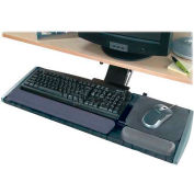 "Kensington® Keyboard Platform, 60718, Height/Tilt Adjust, 21-1/4"" X 30-1/2"" X 10"", Graphite"
