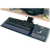 """Kensington® 60718 Modular Keyboard Platform with SmartFit® System, 19"""" Track Length, Black"""