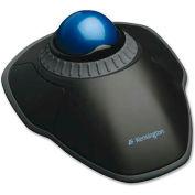 """Kensington® Trackball W/Scroll Ring, 72337, 4-1/2"""" X 5-1/2"""" X 2"""", Black"""