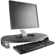 Kantek MS280B LCD/CRT Monitor Stand With Keyboard Storage, Black