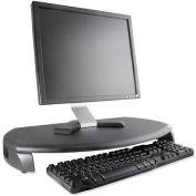 Kantek MS280B LCD/CRT Monitor Stand With Keyboard Storage, Black